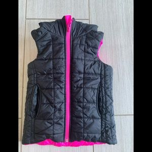 Reversible down-filled vest by Ivivva